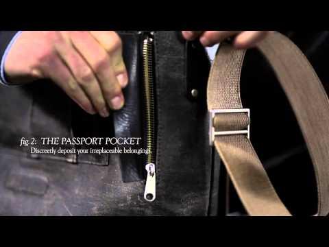 BROOKS    Barbican Shoulder Bag
