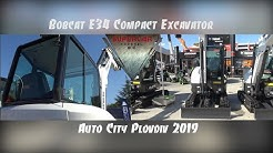 Bobcat E34 Compact Excavator at Plovdiv international Fair 2019