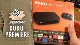 Unboxing The Roku Premiere (4620R) And First Impressions | Mark David Zahn