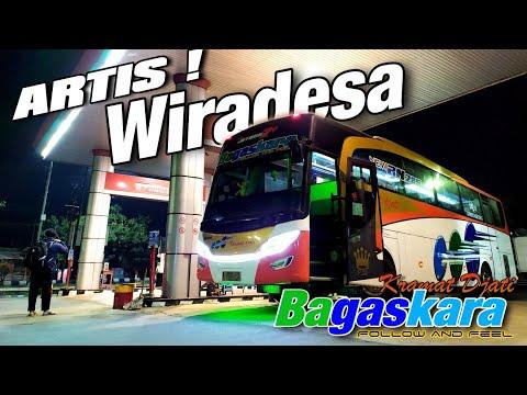 PELARI WIRADESA WANI POLAH | Trip Report Kramat Djati BAGASKARA Jkt - Wiradesa !!!