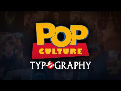 Pop Culture Typography