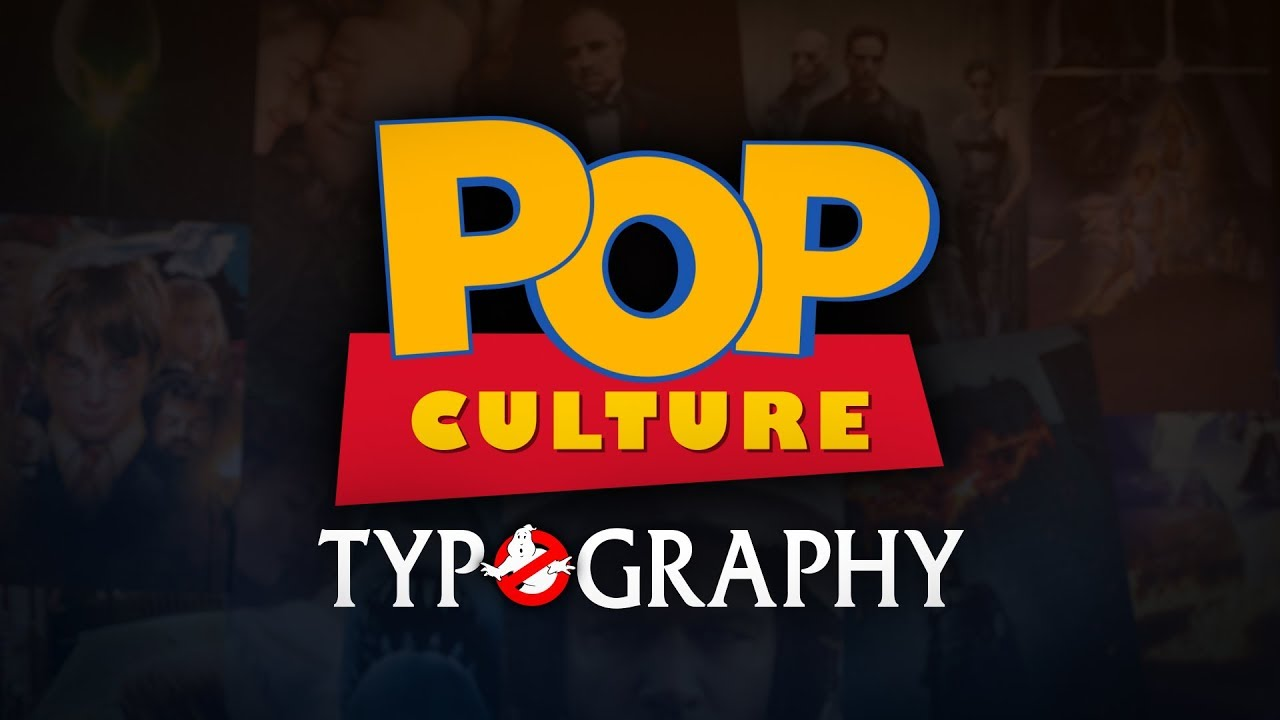 Pop Culture Typography - YouTube