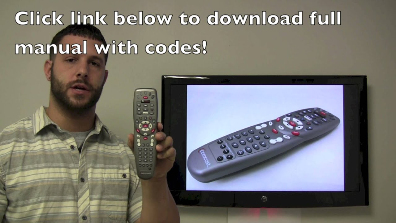 How To Unlock Cable Box Universal Remote Control Comcast Xfinity Infiniti Setup