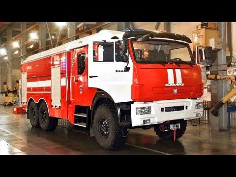 Мороз не страшен! «Гефест» — новая пожарная автоцистерна для работ на холоде