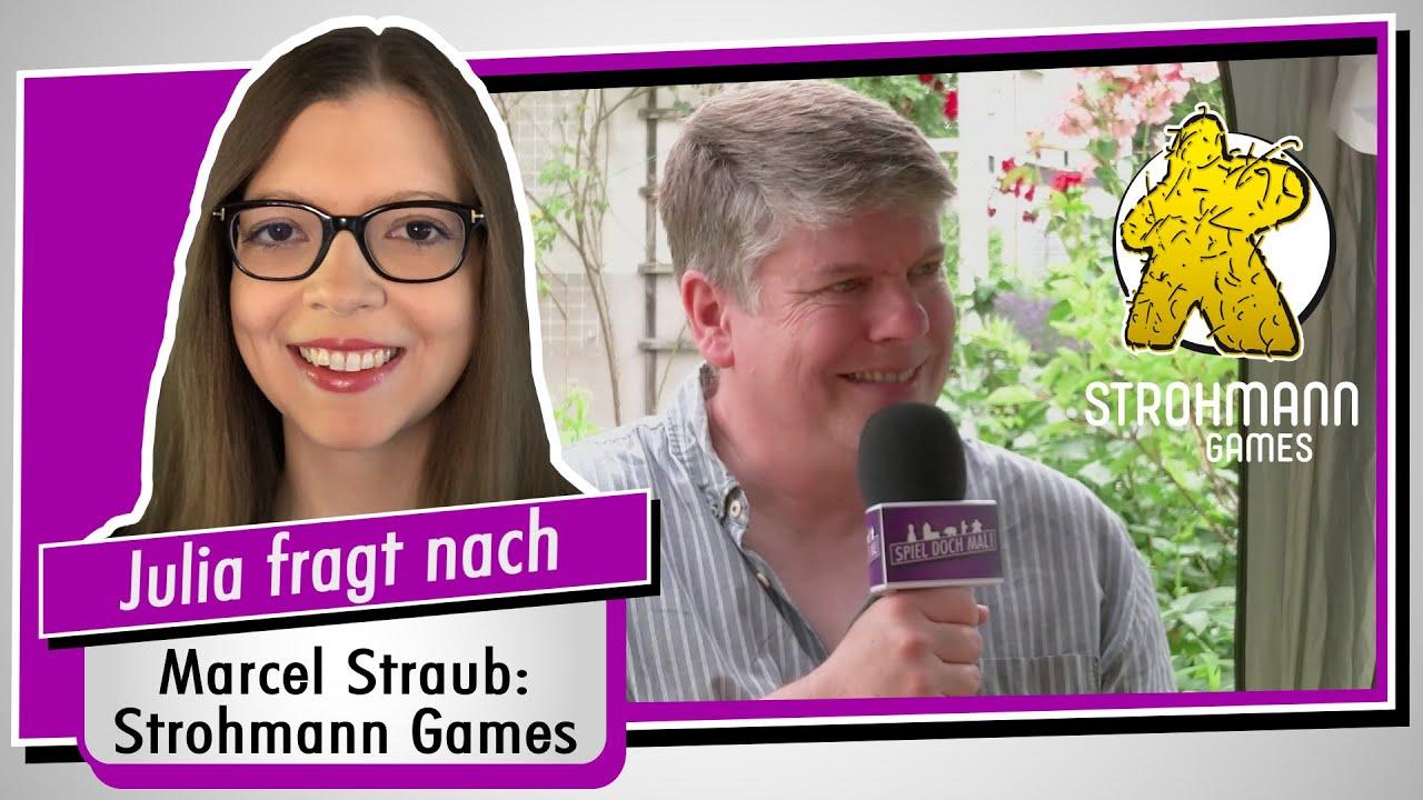 Im Interview: Strohmann Games - Geschäftsführer Marcel Straub - Spiel doch mal!