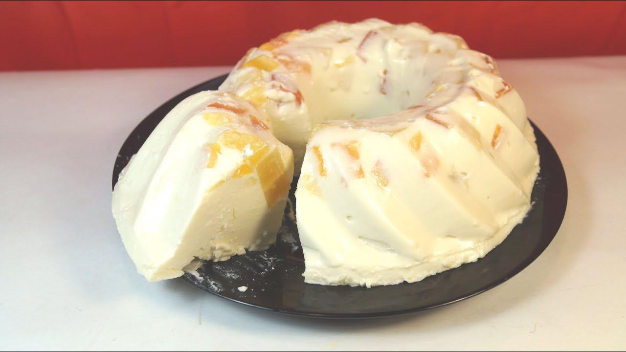 с десерта желе творожного Рецепт