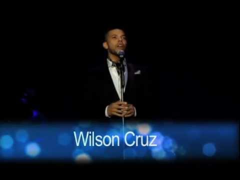 """Sparkle! 2011 - Wilson Cruz sings """"O, Holy NIght"""""""