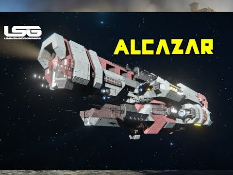 alcazar light cruiser no mods space engineers youtube. Black Bedroom Furniture Sets. Home Design Ideas