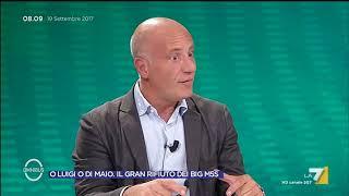 Omnibus - O Luigi o Di Maio. Il gran rifiuto dei big M5S (Puntata 19/09/2017)
