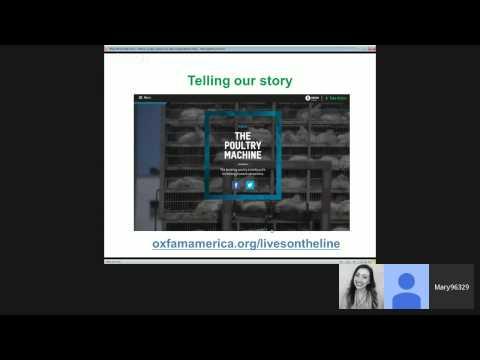 Food Tank Webinar: Oxfam America #LivesOnTheLine