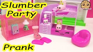 Slumber Party Pillow Prank Play Video of Shopkins Season 5 Exclusives , Cookieswirlc