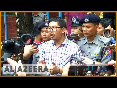 🇲🇲 Myanmar court postpones verdict in jailed Reuters reporters' case  | Al Jazeera English