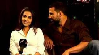 Akshay Kumar bullies Vidya Balan