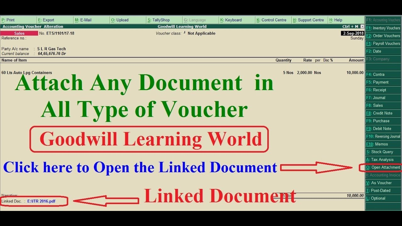 tally tdl for attach any type of document in all type of voucher in rh youtube com TDL Window Systems TDL Window Systems