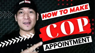 How to set your COP appointments in MISMO Vlog#024