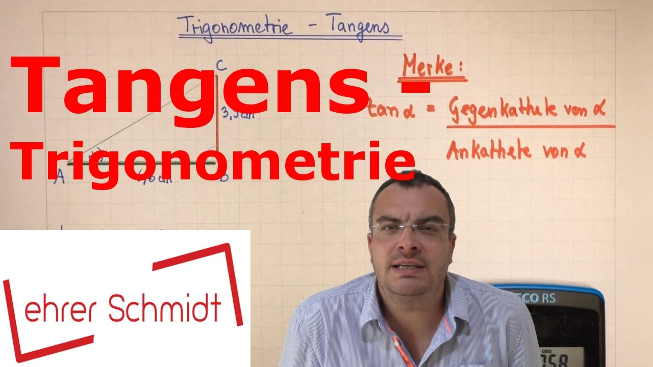tangens berechnen trigonometrie mathematik youtube. Black Bedroom Furniture Sets. Home Design Ideas