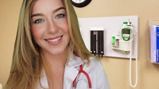ASMR Doctor Visit with Dr Calm Roleplay