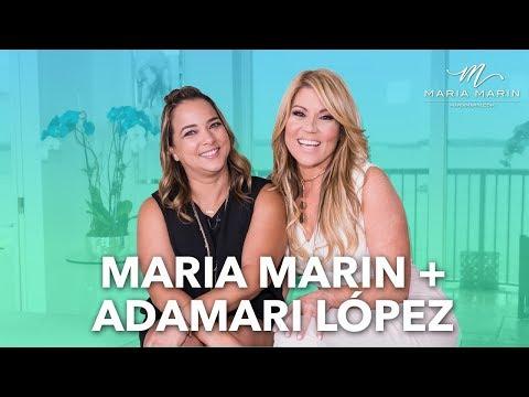 María Marín Live, invitada: Adamari López