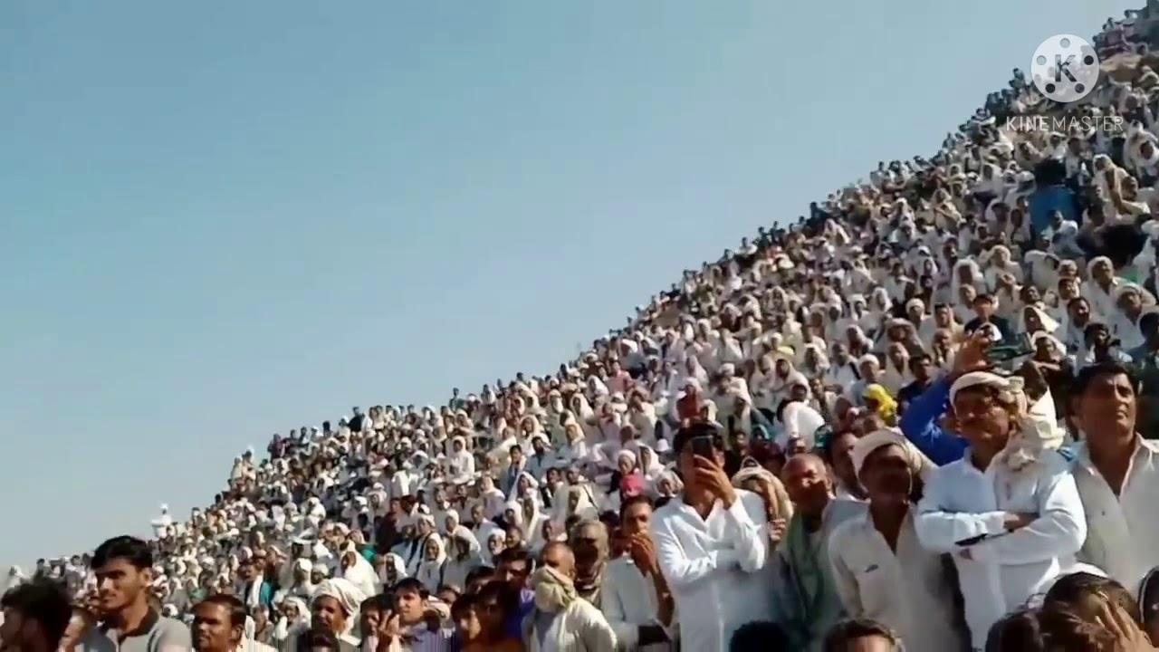 किसान नेता राकेश टिकैत को सुनने के लिए राजस्थान में भारी भीड़