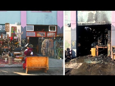 Before and after the fatal Ghost Ship fire in Oakland