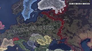 Operation Barbarossa - HOI4 Timelapse