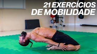 Costas quadril das de e mobilidade exercícios