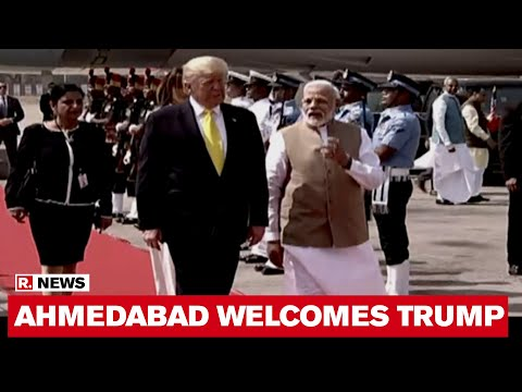 Namaste Trump: Air Force One With US President Lands At Ahmedabad's Sardar Vallabhbhai Patel Airport
