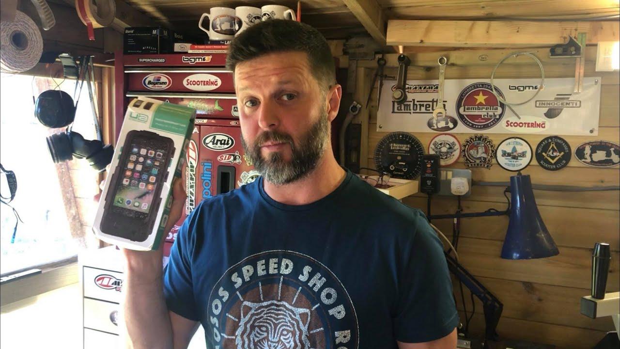 Ultimate Addons  Universal Scooter Phone Case Lambretta & Vespa for camera-phone iPhone 8+