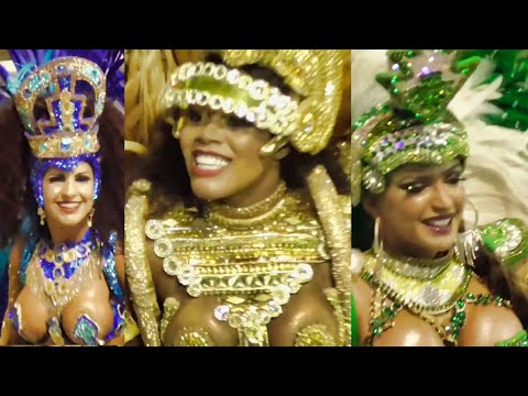Carnaval 2019 Brazil - Champions Prize Winners Parade Sao Paulo, Last Day Samba Brasil Carnival (2)