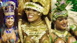 Carnaval 2019 Brazil - Champions prize winners parade Sao Paulo, last day Samba Brasil Car ...