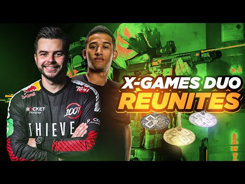 THE OLD OPTIC X-GAMES DUO REUNITES!! INSANE CLUTCH IN MY FIRST SND TOURNAMENT!