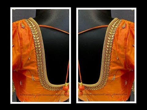 most-beautiful-aari/maggam-work-designer-blouse-with-normal-stitching-needle