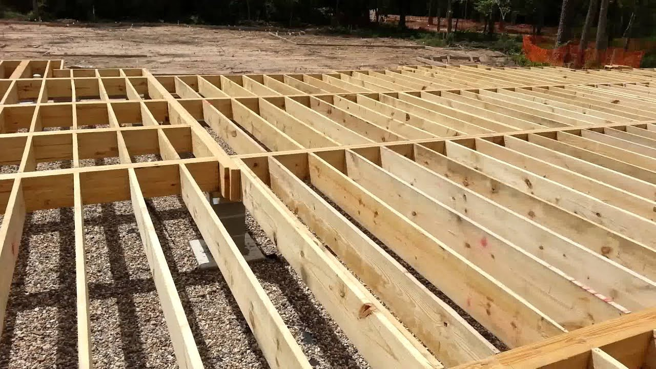 How To Build A Pier And Beam Floor Thefloors Co