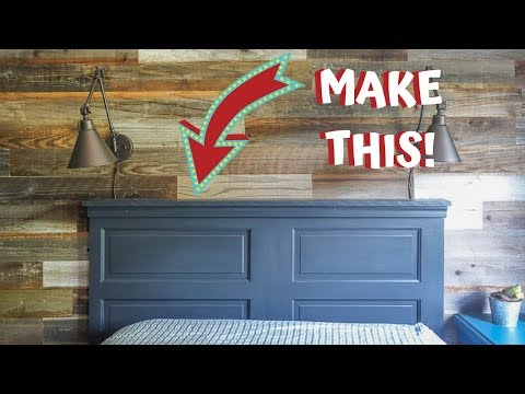 The Easiest DIY Headboard Ever