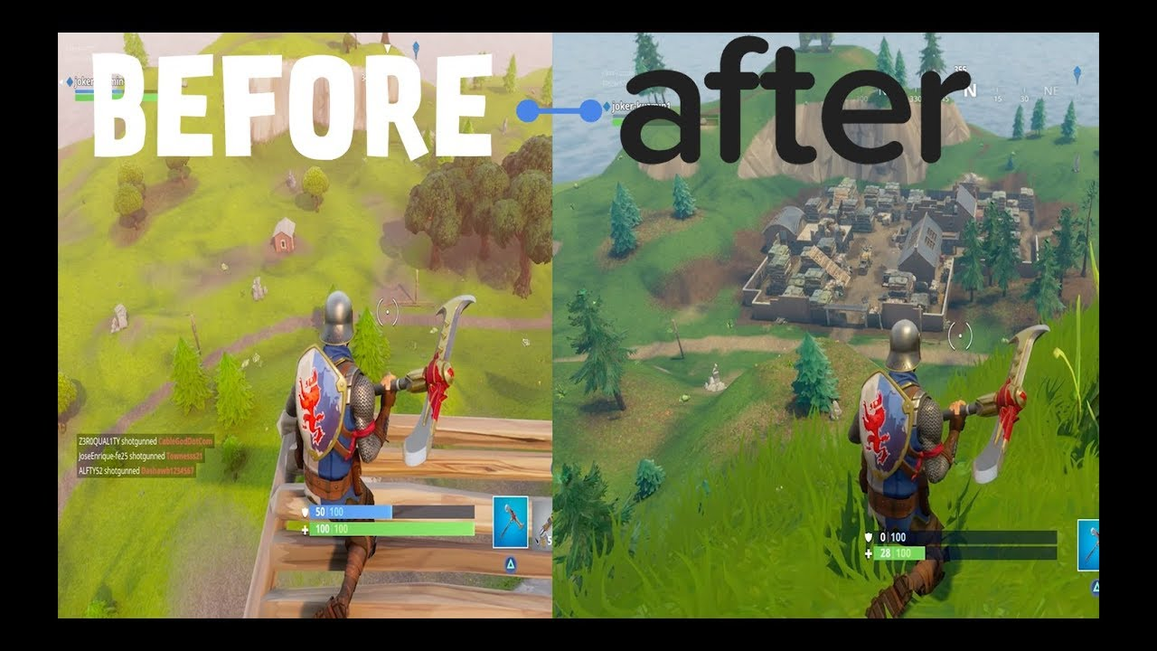 Fortnite New Map vs Old Map How it's Change ? - YouTube