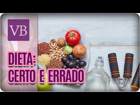 O Certo e o Errado na Dieta - Você Bonita (28/03/17)