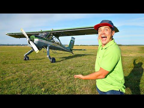 Купили на аукционе самолет за 5 миллионов рублей! Первый полет!