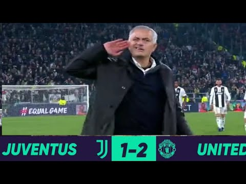 Juventus Vs Manchester United  COMEBACK  HIGHLIGHTS  CHAMPIONS LEAGUE