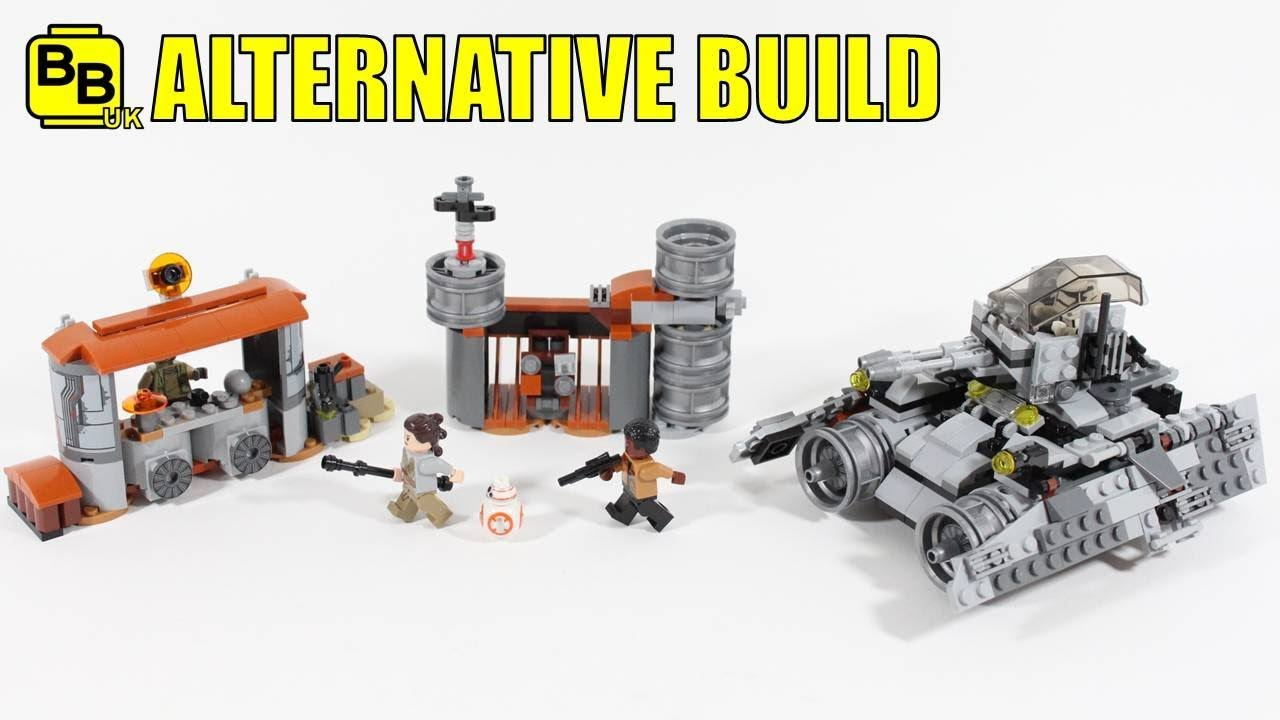 75178 ALTERNATIVE BUILD JAKKU TANK AMBUSH, by BrickBros UK, on Youtube