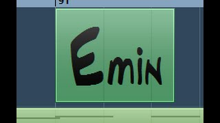"Em - ""The best"" guitar backing track with CHORDS! E minor - Rock Ballad"