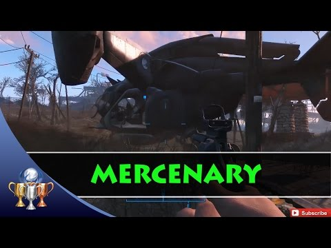 Fallout 4 Mercenary Trophy - 50 Fast, Easy & Repeatable Miscellaneous Quest Objectives