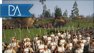 The Greeks Glorious Stand Against Mighty Thracian Warriors - Total War: Rome 2