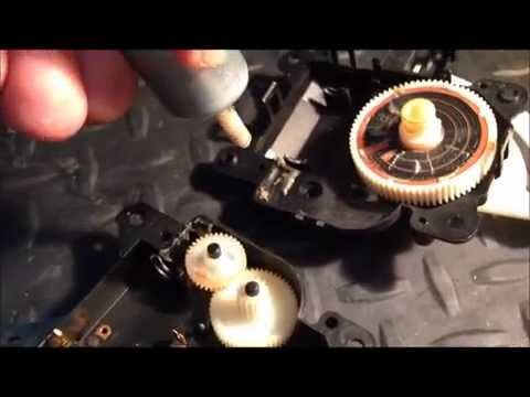 2001 Lexus RX 300 fixing noisy air conditioning grinding, clicking, rattling sounds