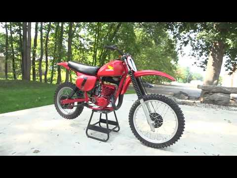 1978 Honda Elsinore CR250