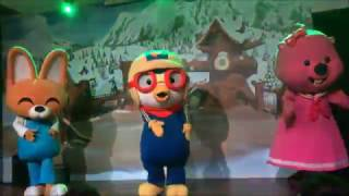 Pororo (뽀로로) Mini Musical Show at Pororo Park Singapore! (Featuring Eddy & Loopy)
