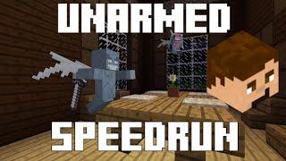 Minecraft 1.11 UNARMED Speedrun (Woodland Mansion)