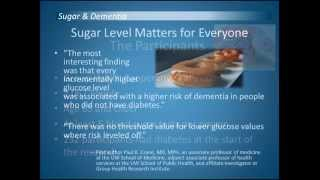 Sugar Level Protects Brain From Dementia