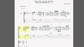 Để dành cho anh - Thủy Top | Guitar sheet + Tab intro