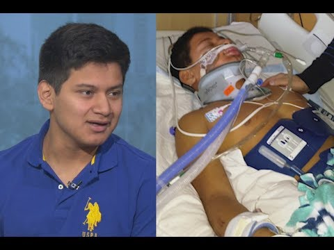 'The Impossible': This teen fell into an icy lake, had no pulse for 45 minutes and survived