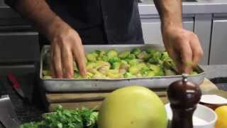 Roasted Brussels Sprouts With Pomelo And Star Anise Recipe - Yotam Ottolenghi
